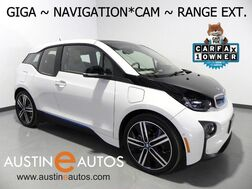 2016_BMW_i3 Giga World w/Range Extender_*NAVIGATION, BACKUP-CAMERA, LEATHER/CLOTH, COMFORT ACCESS, HEATED SEATS, 20 INCH WHEELS, BLUETOOTH PHONE & AUDIO_ Round Rock TX