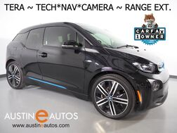 2016_BMW_i3 Tera World w/Range Extender_*NAVIGATION, BACKUP-CAMERA, DRIVING ASSISTANT, ADAPTIVE CRUISE, LEATHER, HARMAN/KARDON, HEATED SEATS, COMFORT ACCESS, 20 INCH WHEELS, BLUETOOTH_ Round Rock TX