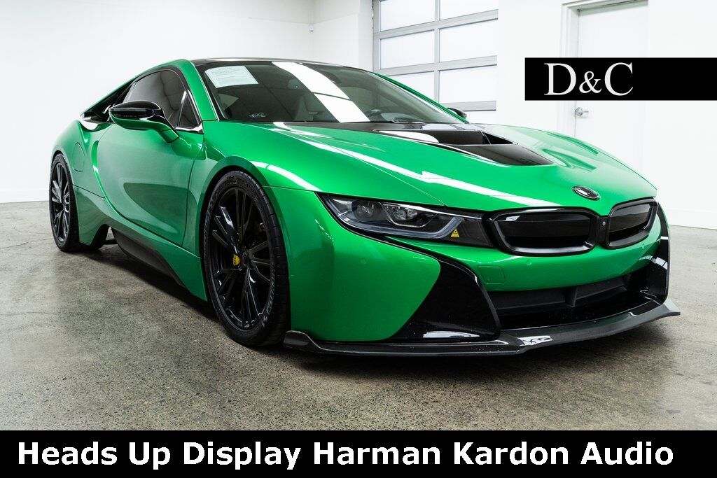 2016 BMW i8 Heads Up Display Harman Kardon Audio Portland OR