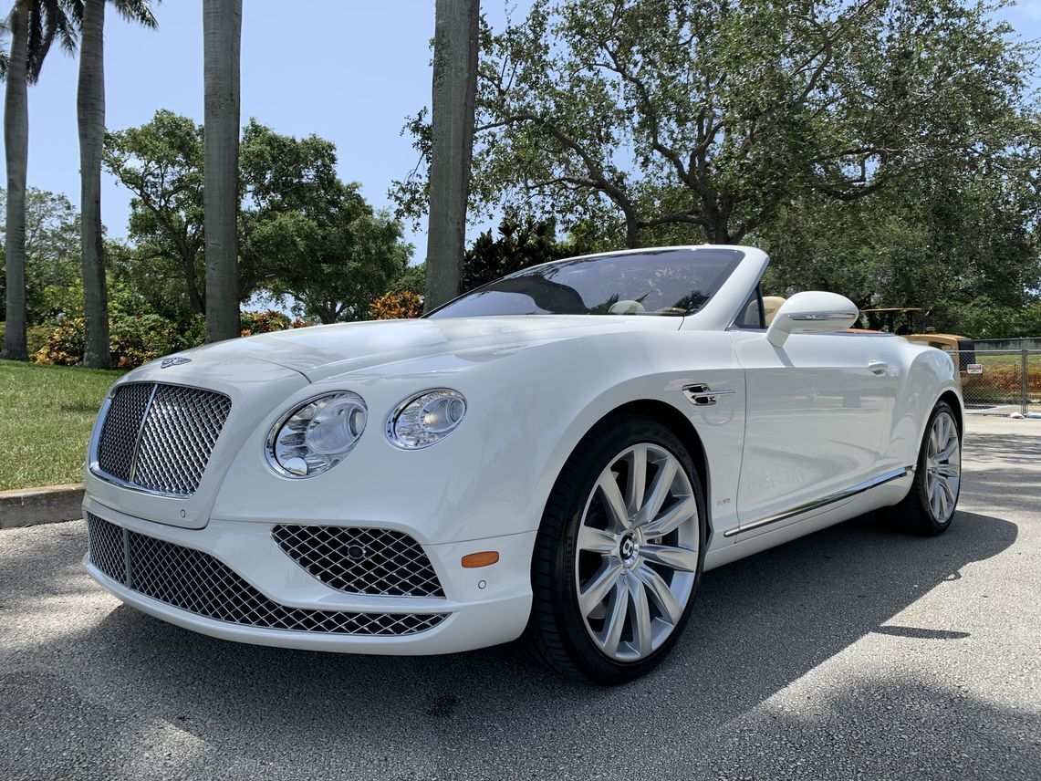 2016 Bentley Continental GT Convertible 2D