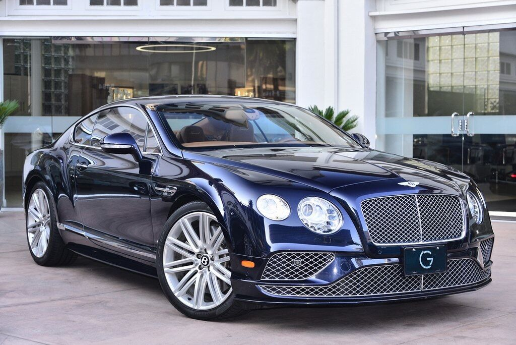 2016 Bentley Continental GT Speed  Beverly Hills CA