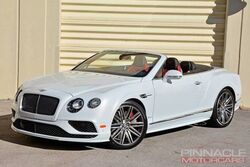 Bentley Continental GT Speed Convertiable Speed 2016