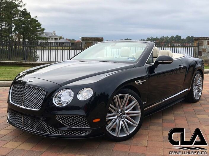 2016 Bentley Continental GT Speed Convertible Speed The Woodlands TX