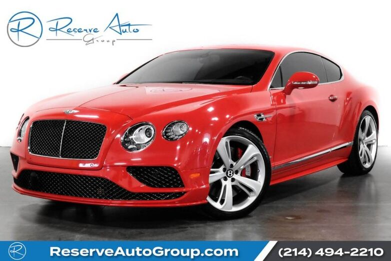 2016 Bentley Continental GT Speed NAIM Adaptive Cruise Carbon Fiber Massage Seats The Colony TX