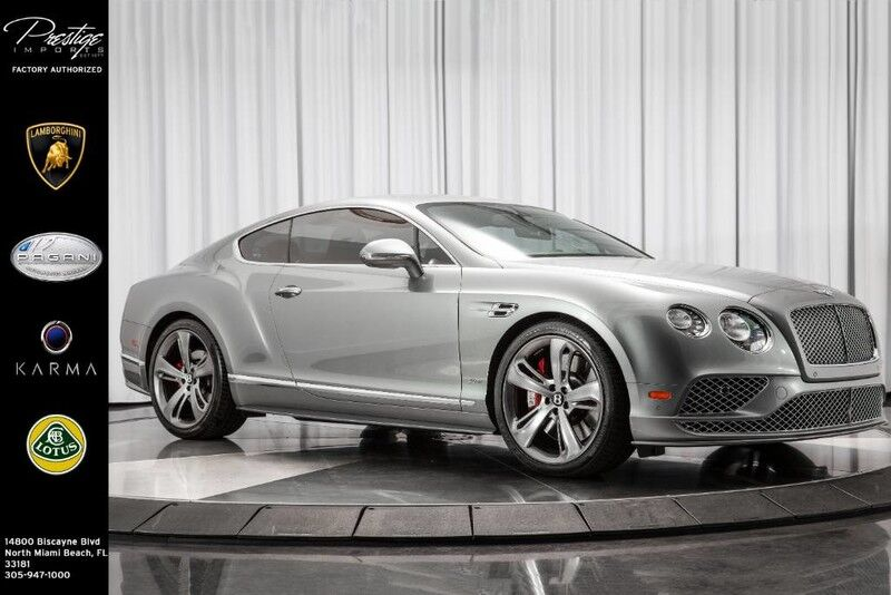 2016_Bentley_Continental GT_Speed_ North Miami FL