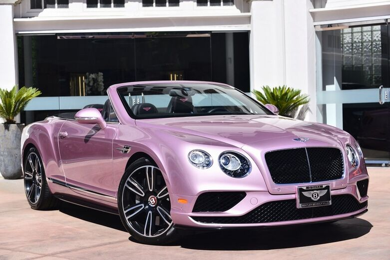 2016 Bentley Continental GT V8 S  Beverly Hills CA