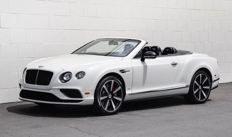 2016 Bentley Continental GT V8 S  San Diego CA