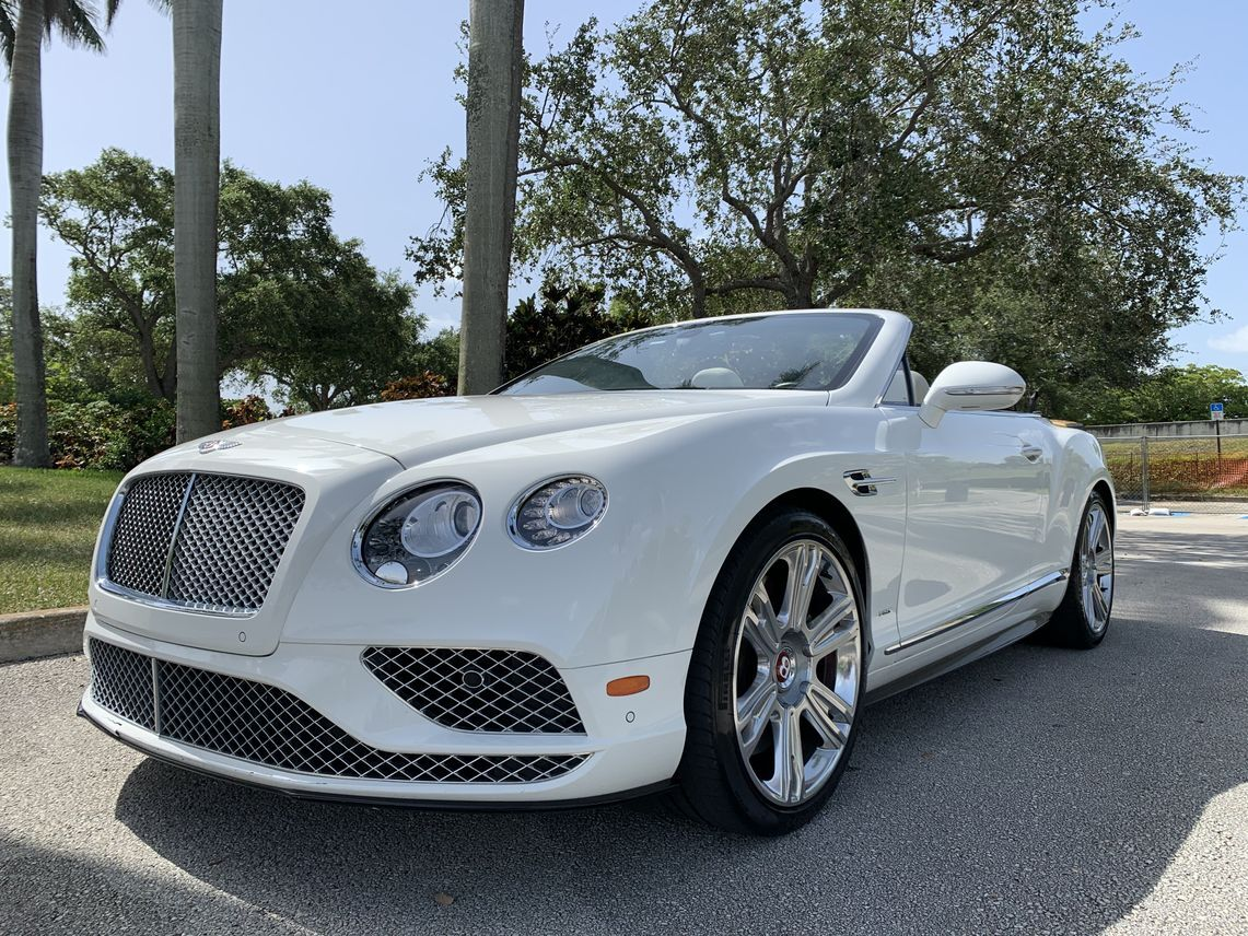 2016 Bentley Continental GT V8 S Convertible 2D