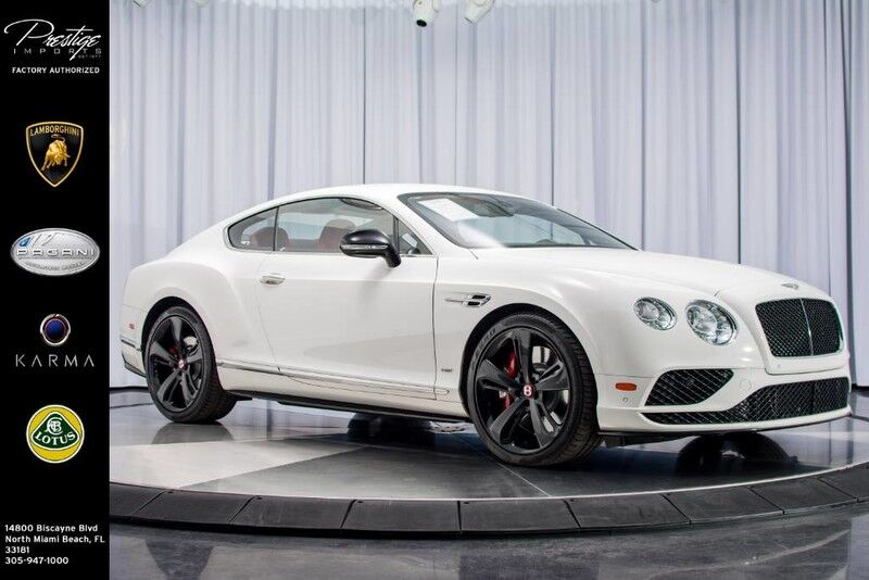 2016 Bentley Continental GT V8 S North Miami Beach FL 22268876