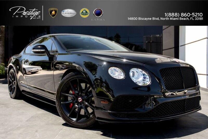 2016_Bentley_Continental GT_V8 S_ North Miami FL