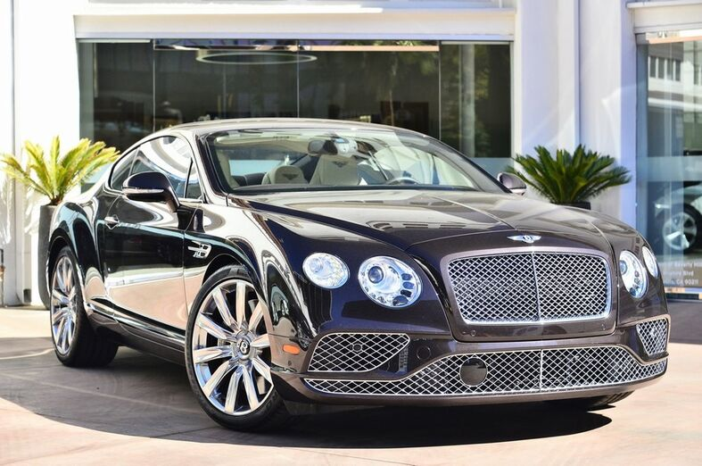 2016 Bentley Continental GT W12 W12 Beverly Hills CA