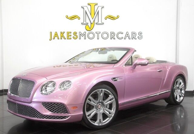 2016 Bentley Continental GTC V8 ($250,055 MSRP) *SPECIAL ORDERED CAR* *ONLY 9500 MILES* San Diego CA