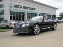 2016_Bentley_Continental GTC_V8 CONVERTIBLE TOP, RED LEATHER INTERIOR, HTD/CLD STS, ADJUSTABLE SUSPENSION, NAVIGATION,_ Plano TX