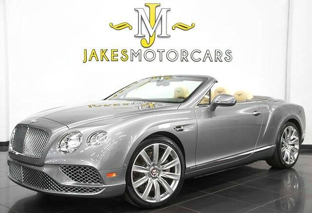 2016 Bentley Continental GTC V8 Convertible ($248,255 MSRP) *ONLY 7,100 MILES* San Diego CA