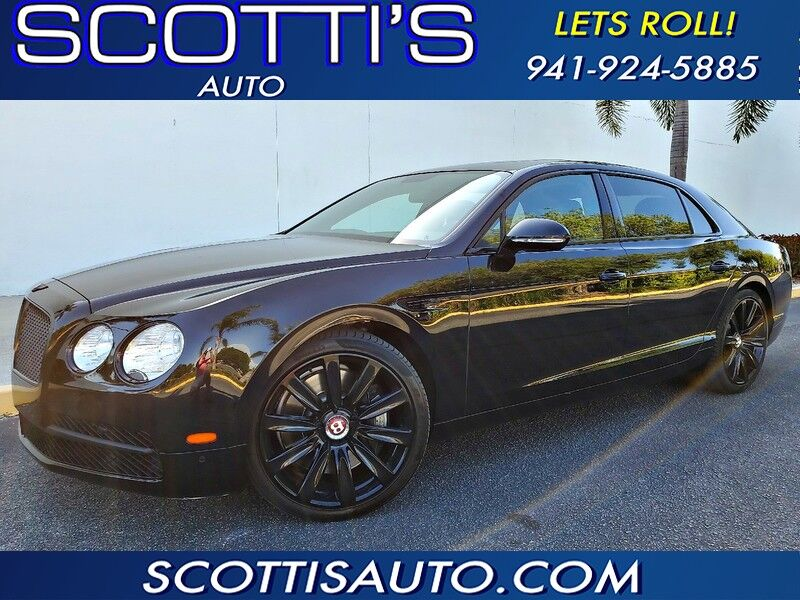 2016 Bentley Flying Spur CLEAN CARFAX~ 1-OWNER~TWIN TURBO~ AWESOME COLOR~ LOW MILES~ MINT CONDITION~ ONLINE FINANCE AND SHIPPING AVAILABLE! Sarasota FL