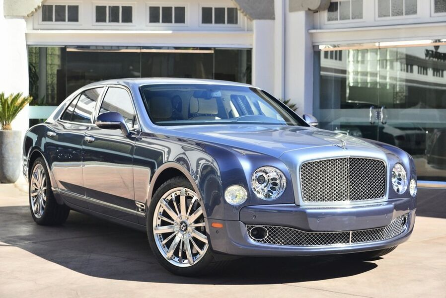 2016_Bentley_Mulsanne__ Beverly Hills CA