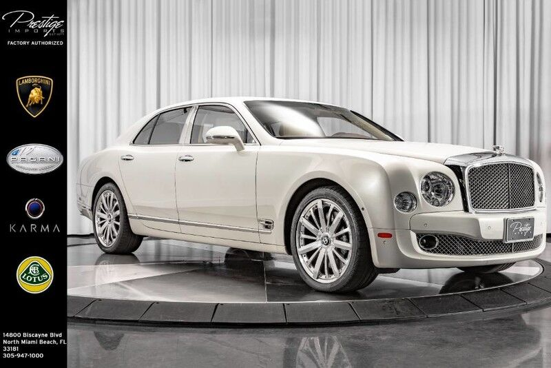 2016_Bentley_Mulsanne__ North Miami Beach FL