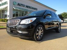 2016_Buick_Enclave_Leather FWD. 3RD ROW, BACKUP CAM, BLIND SPOT, CROSS TRAFFIC, LANE DEPARTURE, NAVI, PANO ROOF, WIFI_ Plano TX