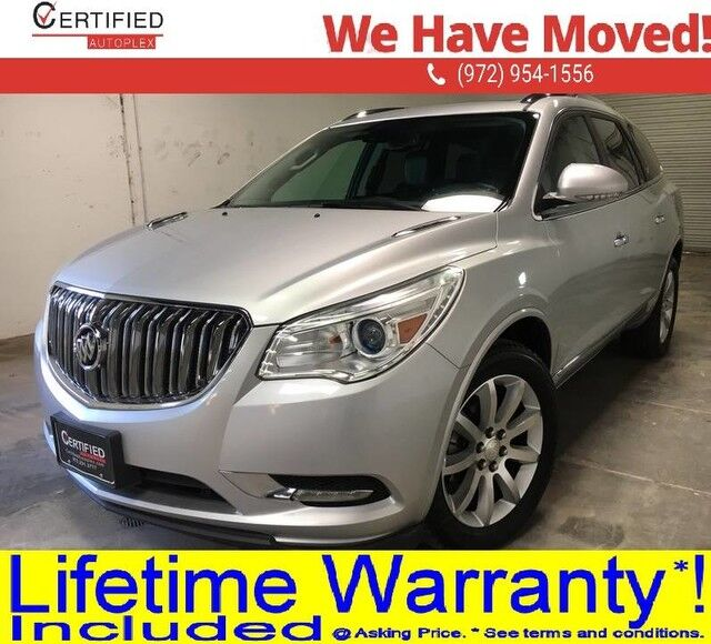 2016 Buick Enclave PREMIUM NAVIGATION PANORAMIC ROOF BLIND SPOT ASSIST REAR CAMERA LANE ASSIST Dallas TX