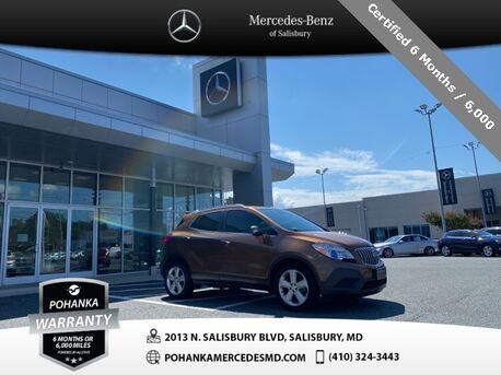 2016_Buick_Encore_** Certified 6 Months / 6,000  **_ Salisbury MD