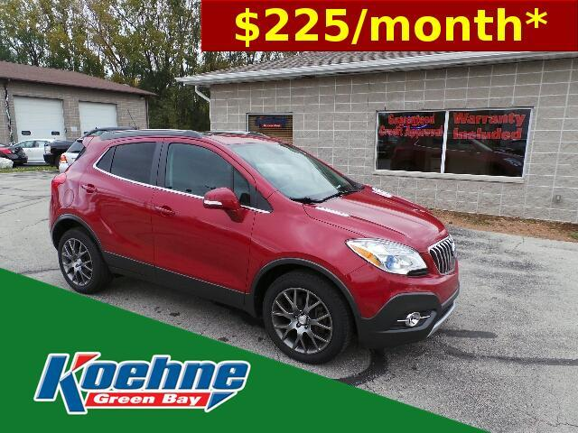 2016 Buick Encore AWD 4dr Sport Touring Green Bay WI