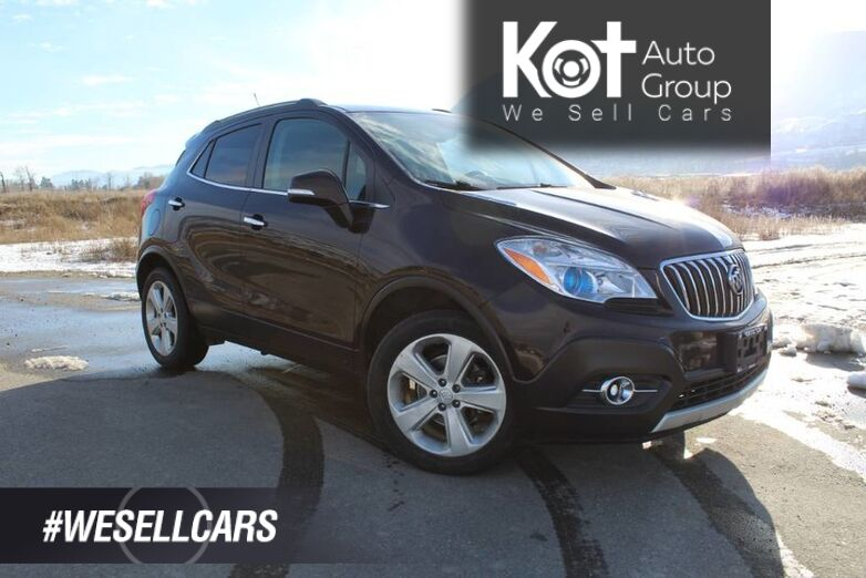 2016 Buick Encore AWD, Clean Carfax, Sunroof, Winter Tires Included ! Penticton BC