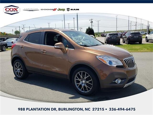 2016 Buick Encore Sport Touring Front-wheel Drive Burlington NC