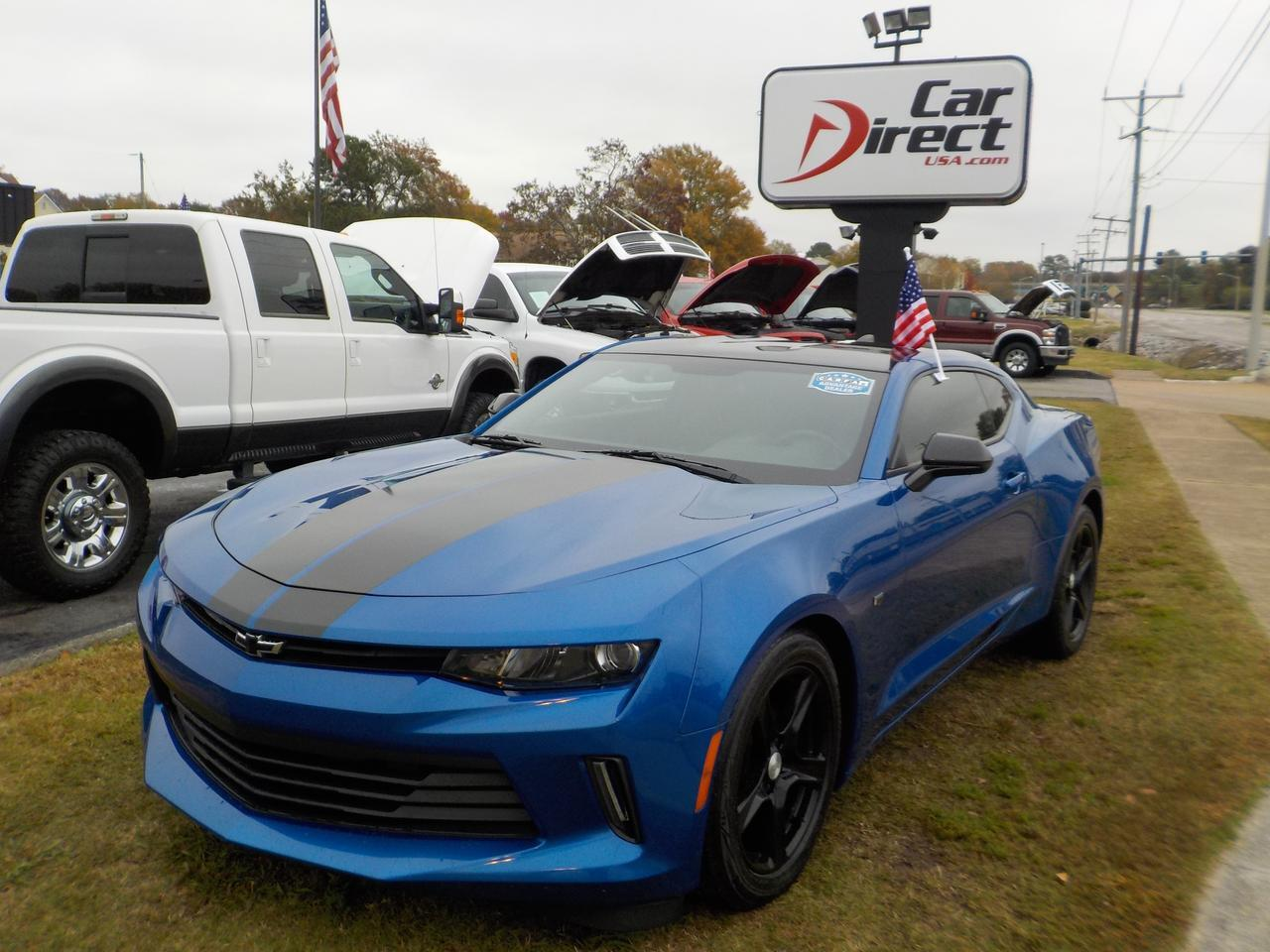 2016 CHEVROLET CAMARO 1LT, WARRANTY, MANUAL, KEYLESS ENTRY, SATELLITE RADIO, BLUETOOTH, ONSTAR, AUX/USB PORT! Virginia Beach VA
