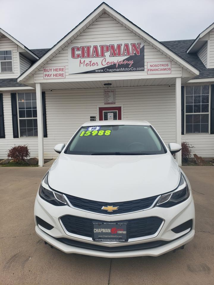 2016 CHEVROLET CRUZE Fort Worth TX