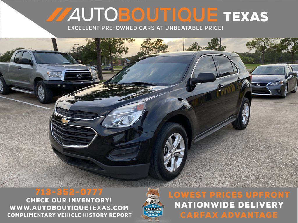 2016 CHEVROLET EQUINOX LS LS Houston TX