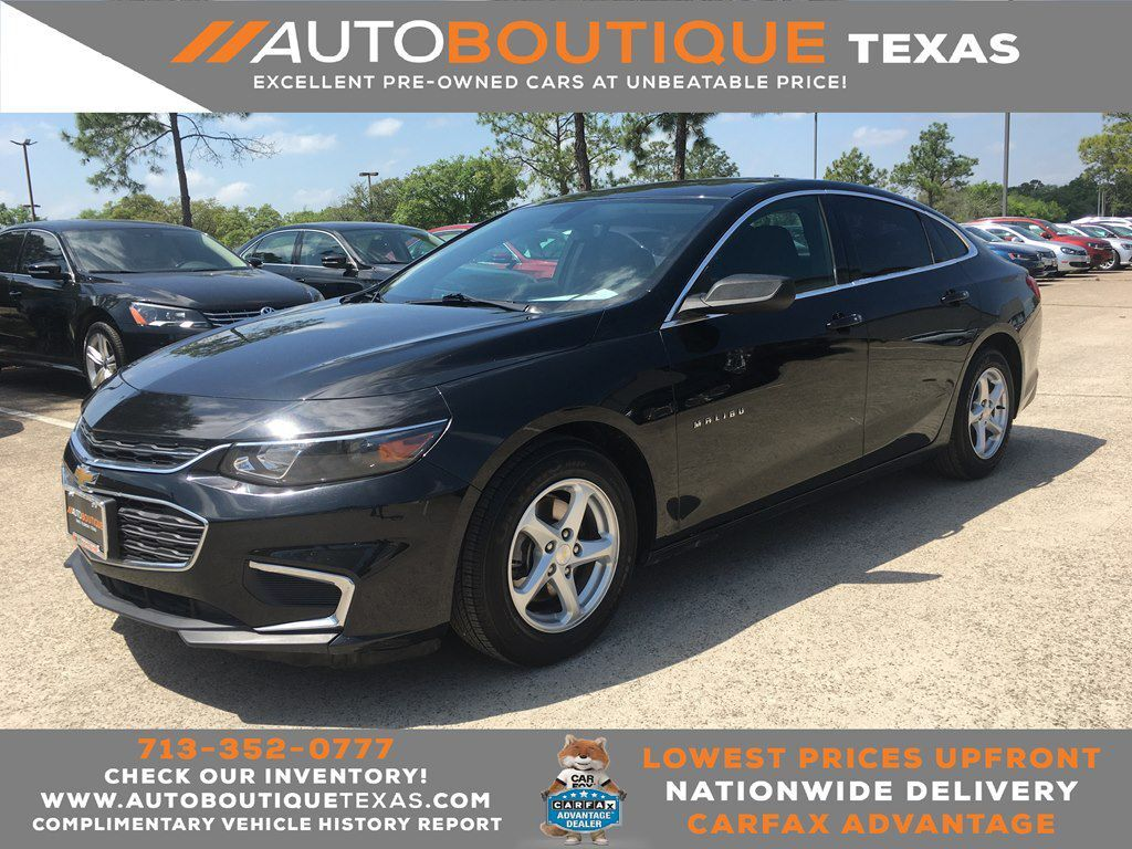 2016 CHEVROLET MALIBU LS LS Houston TX