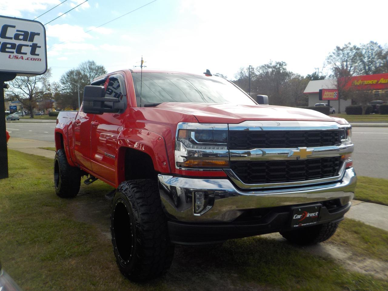 2016 CHEVROLET SILVERADO 1500 CREW CAB LT 4X4, CUSTOM RRP RIMS, LIFTED, BED LINER, BACKUP CAM, TOW PACKAGE, ONLY 61K MILES! Virginia Beach VA