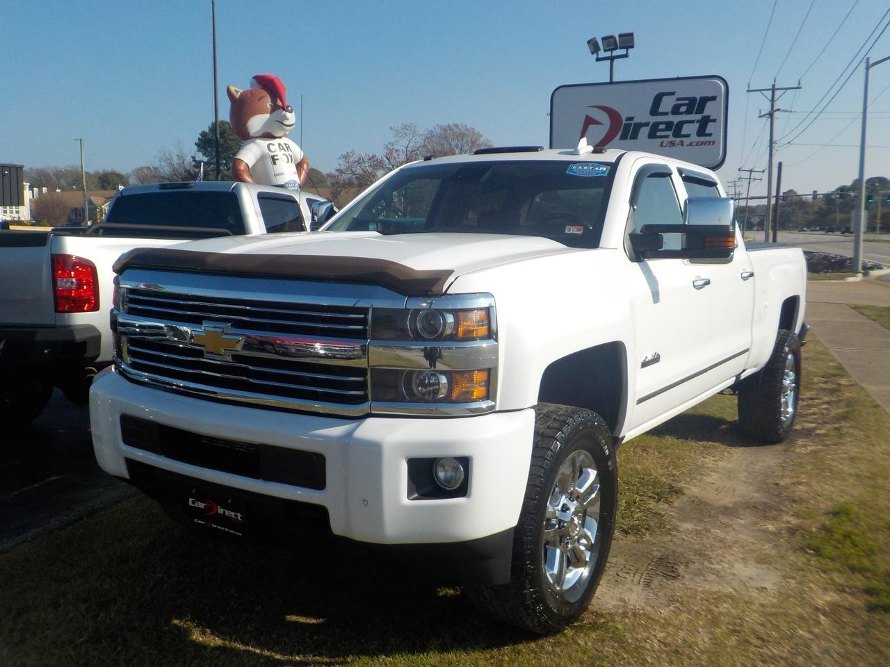 2016 CHEVROLET SILVERADO 2500 HIGH COUNTRY CREW CAB 4X4, ONE OWNER LEATHER, BOSE SOUND SYSTEM, REMOTE START, BACKUP CAMERA!