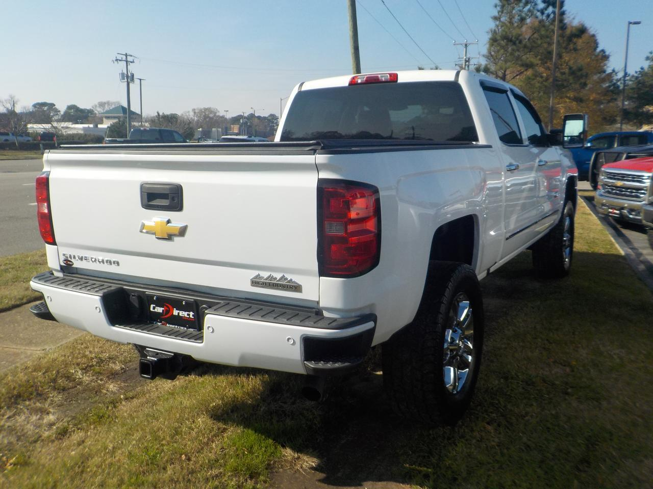 2016 CHEVROLET SILVERADO 2500 HIGH COUNTRY CREW CAB 4X4, ONE OWNER LEATHER, BOSE SOUND SYSTEM, REMOTE START, BACKUP CAMERA! Virginia Beach VA