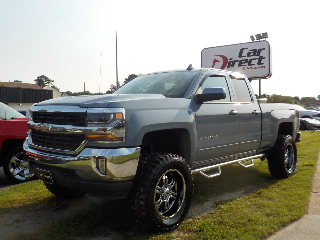 2016 CHEVROLET SILVERADO LT DOUBLE CAB 4X4, BLUETOOTH, AUX/USB PORT, RUNNING BOARDS, TOW PKG, SIRIUS RADIO, BACKUP CAM! Virginia Beach VA