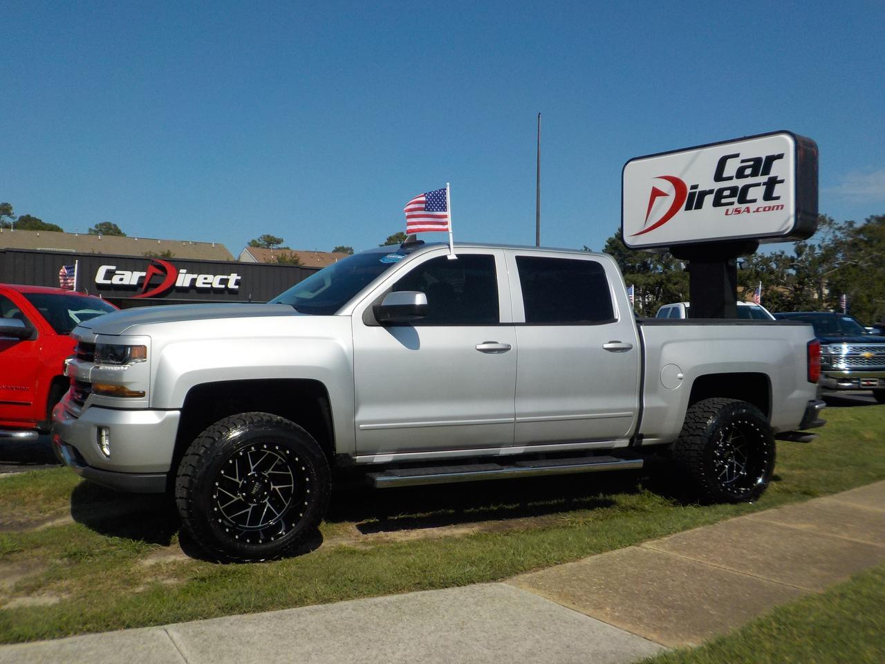 2016 CHEVROLET SILVERADO LT Z71 CREW CAB 4X4, RUNNING BOARDS, TOW PACKAGE, BLUETOOTH, EXCELLENT CONDITION, ONLY 18K MILES!! Virginia Beach VA