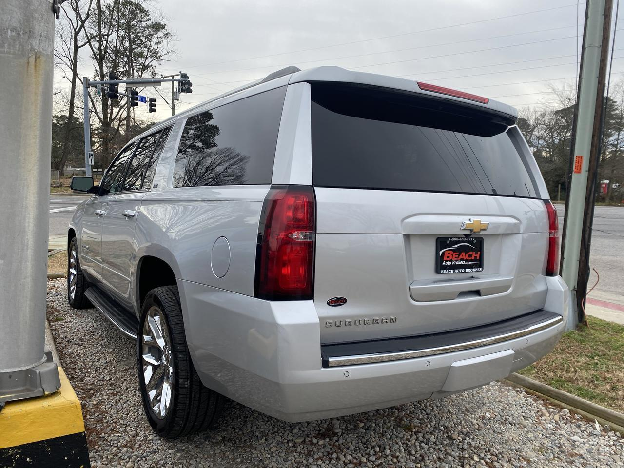 2016 CHEVROLET SUBURBAN LTZ 4X4, WARRANTY, LEATHER, NAV, SUNROOF, HEATED/COOLED SEATS, 3RD ROW, DVD PLAYER, 1 OWNER, CLEAN! Norfolk VA