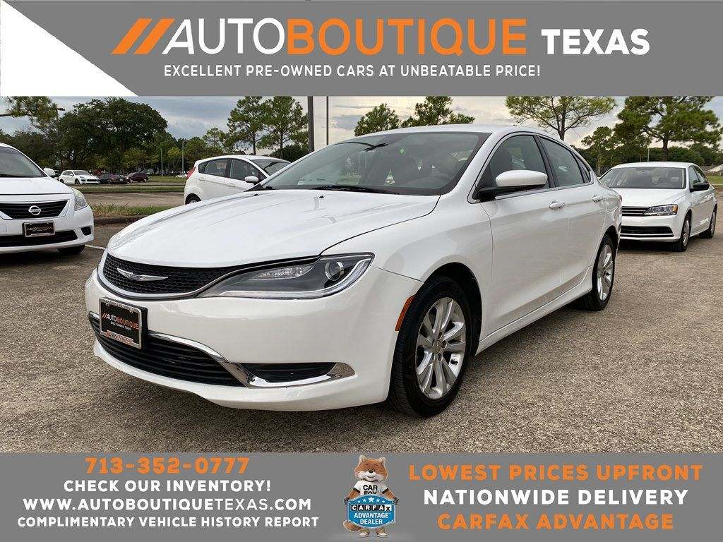 2016 CHRYSLER 200 LIMITED LIMITED