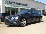 2016 Cadillac ATS 2.0L Luxury AWD LEATHER, SUNROOF, BACKUP CAMERA, NAVIGATION, HTD FRONT STS, BLUETOOTH, KEYLESS START