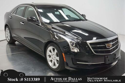 2016_Cadillac_ATS_2.0L Turbo CAM,SUNROOF,HTD STS,KEY-GO,17IN WHLS_ Plano TX