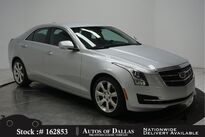 Cadillac ATS 2.0L Turbo Luxury CAM,PARK ASST,KEY-GO,17IN WHLS 2016