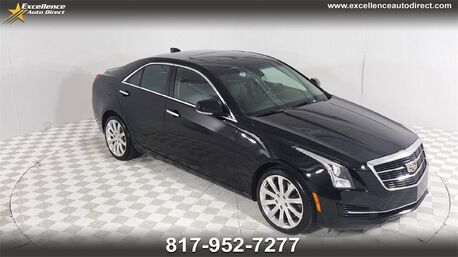 2016_Cadillac_ATS_2.0L Turbo Luxury /LUXURY PACKAGE/CAM/NAV/CRUISE/USB_ Euless TX