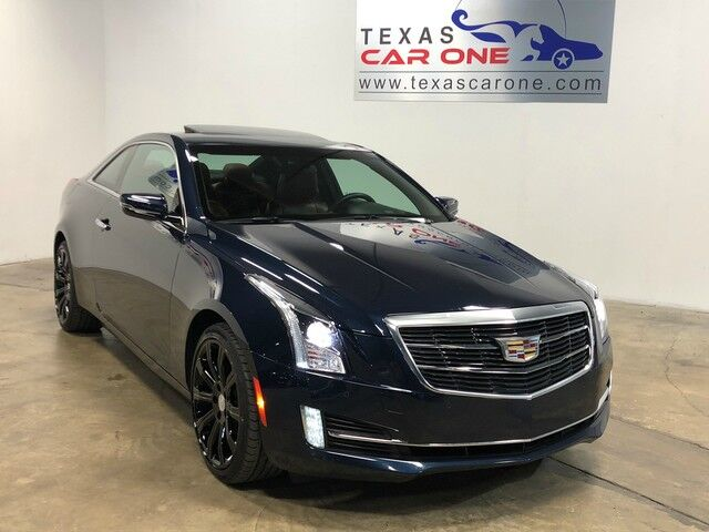 2016 Cadillac ATS Coupe 3.6L PERFORMANCE AWD DRIVER AWARENESS PKG PERFORMANCE PKG COLD W Addison TX