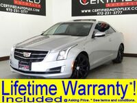 Cadillac ATS Coupe COUPE LUXURY SUNROOF REAR CAMERA PARK ASSIST APPLE CARPLAY ANDROID AUTO REM 2016