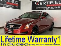 Cadillac ATS Sedan LUXURY SUN AND SOUND PKG NAVIGATION SUNROOF REAR CAMERA PARK ASS 2016