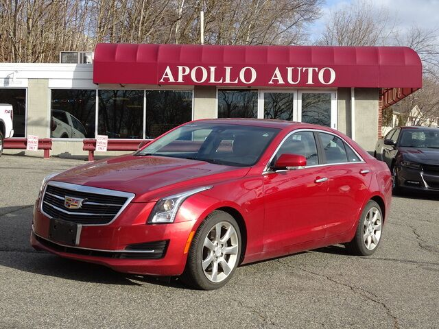 2016 Cadillac ATS Sedan Luxury Collection AWD Cumberland RI