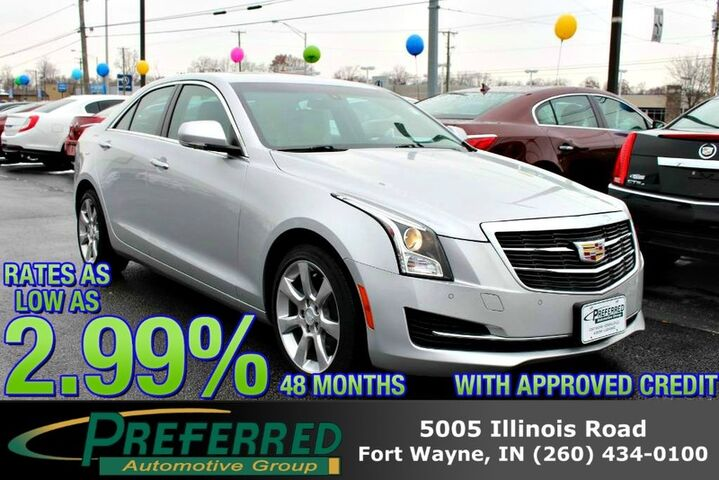 2016 Cadillac ATS Sedan Luxury Collection AWD Fort Wayne Auburn and Kendallville IN