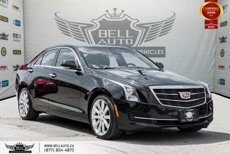 2016 Cadillac ATS Sedan Luxury Collection AWD, NAVI, BACK-UP CAM, SUNROOF Toronto ON