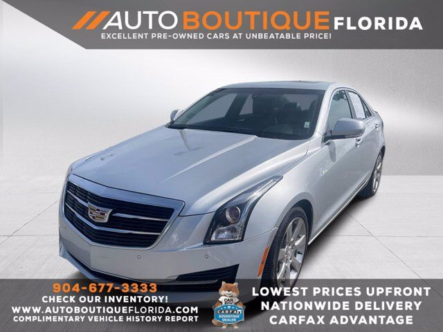 2016 Cadillac ATS Sedan Luxury Collection RWD Jacksonville  FL