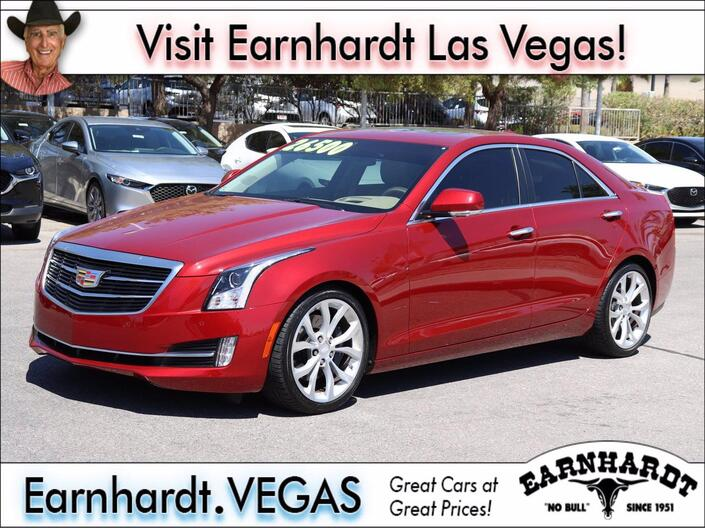 2016 Cadillac ATS Sedan Premium Collection RWD Las Vegas NV